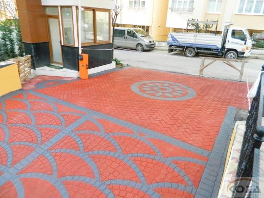 Koza Asfalt Renkli , desenli ve dekoratif asfalt
