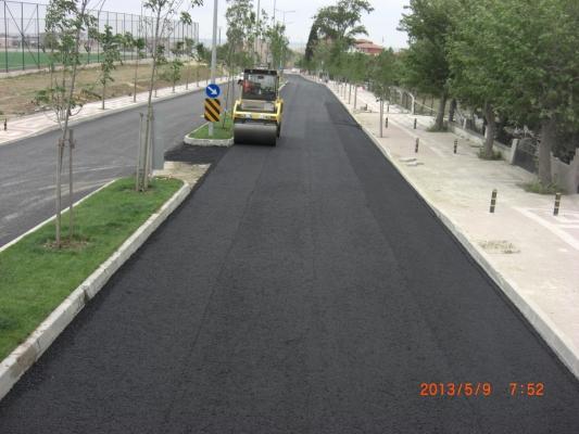 Büyükçekmece Belediyesi - asfalt serme ve sıkıştırma işi